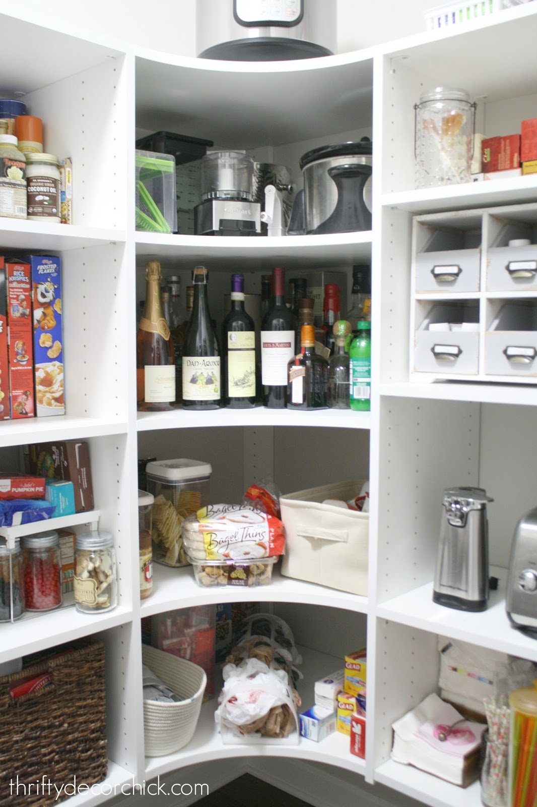 Tips for organizing the pantry