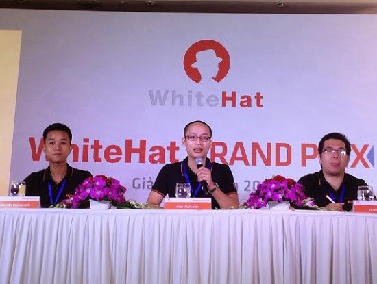 WhiteHat Grand Prix 2014 cuộc thi hacker do BKAV tổ chức