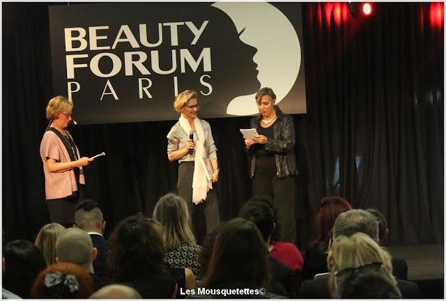 Beauty Forum Awards 2016 - Marie et vous en aparté - Institut - Blog beauté Les Mousquetettes©