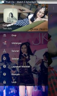 BBM MOD JKT 48 Melody v3.0.0.18 APK Terbaru 2016 Gratis