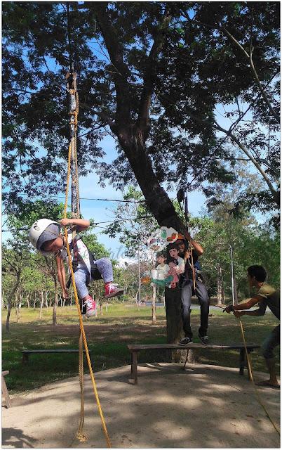 Zipline at The Fun Farm at Sta. Elena
