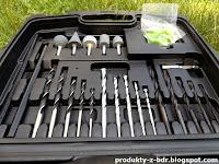 Wiertarka udarowa 710 W Niteo Tools z zestawem wierteł z Biedronki