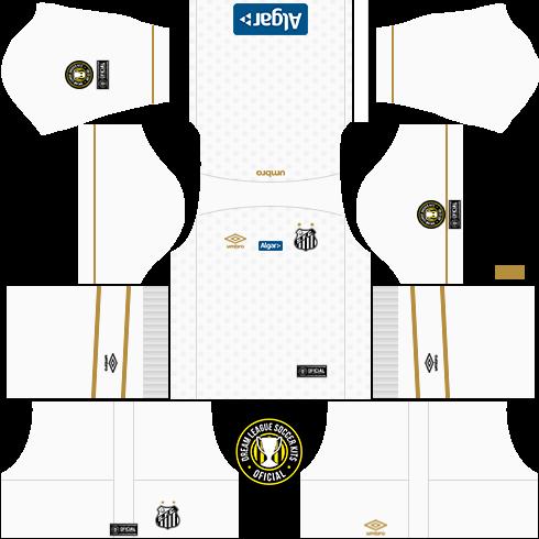1144006df4b Dream League Soccer Kits  Santos 18 19 - DLS18   FTS - By  Georgio ...