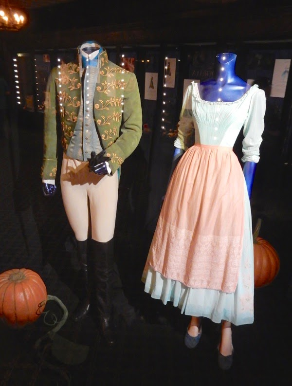 Original Cinderella movie costumes