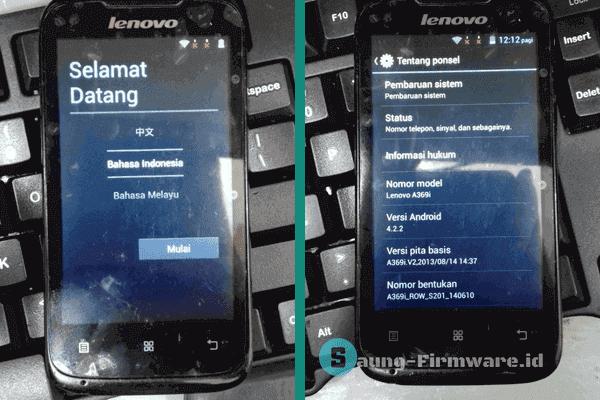 Firmware Lenovo A369i ROW S201 Tested