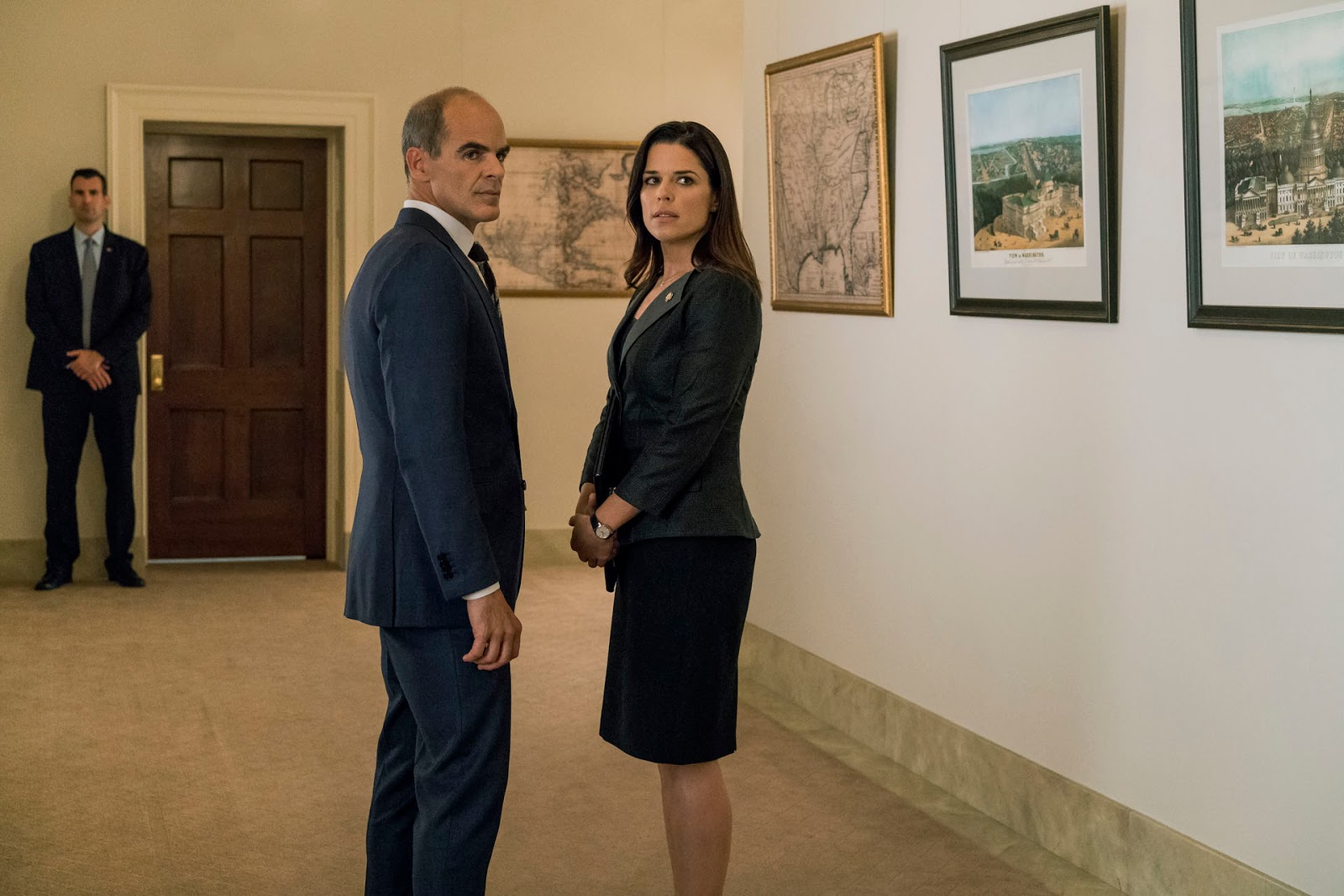 Doug y LeAnn en 'House of Cards'