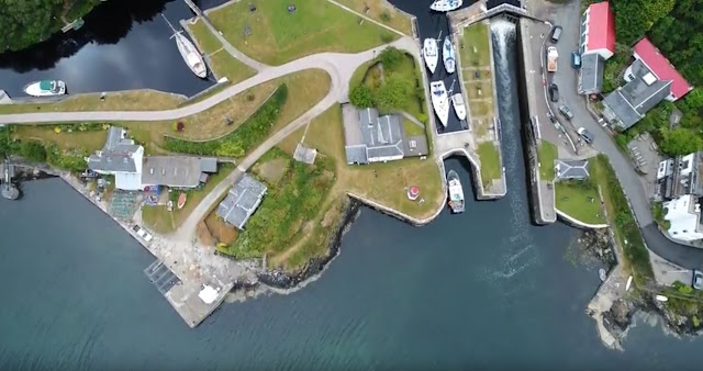 Crinan from the air