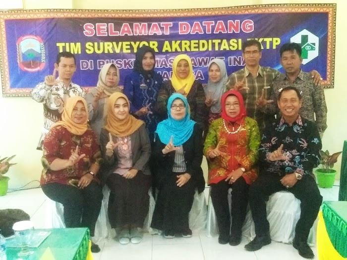 Puskesmas Rawat Inap(PRI) Waymuli Kec Rajabasa Lamsel Gelar Akreditasi Oleh Tim Surveyor Pusat.