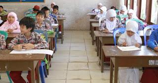 siswa sd di sekolah