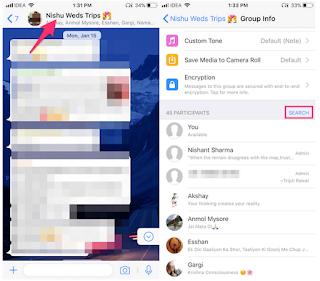 Cara Mencari Peserta Grup Di WhatsApp