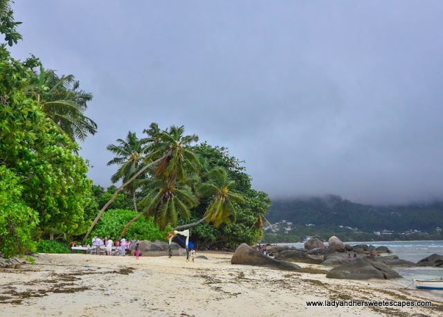 rain in Seychelles