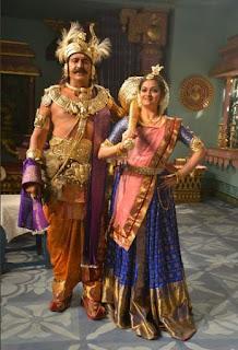 Keerthy Suresh with Maohan Babu in Mahanati Working Stills