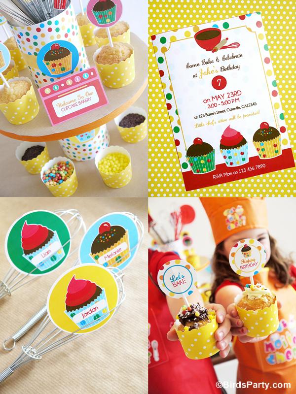 Cupcake Anniversaire pour Garçons et Filles | BirdsParty.fr