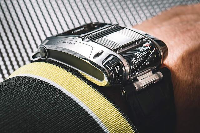Urwerk UR-111C on the wrist