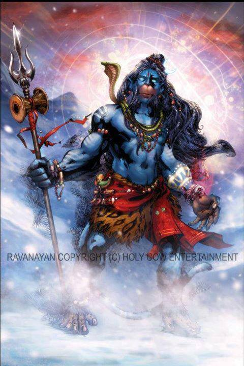 Lord Shiva Animated Wallpaper Best Wallpapers Hanuman With Shiva Roop