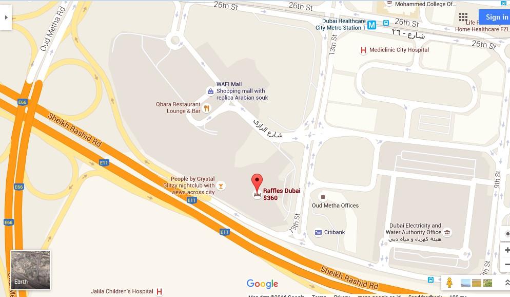 Raffles Botanical Garden Dubai Map Dubai Tourists Destinations – Dubai Tourist Attractions Map