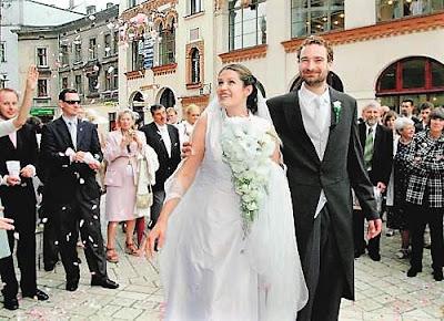 Ślub P.Sobańskiej i M.Reya - fot. http://www.rp.pl/