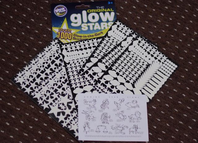 The Original Glow Stars  - glow in the dark stickers - RRP £5.99 - Suitable from age 3+