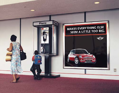 Clever and Creative MINI Cooper Advertisements (20) 10