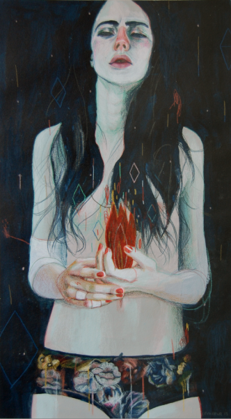 Doctor Ojiplático. Alexandra Levasseur. I prefer drawing to talking & Playing with fire