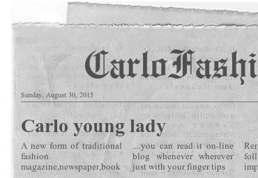 carlo fashion eheadline