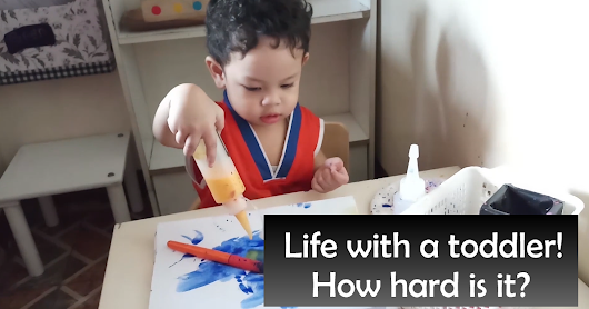 A Day in the Life : Stay at Home Mom and Montessori Baby