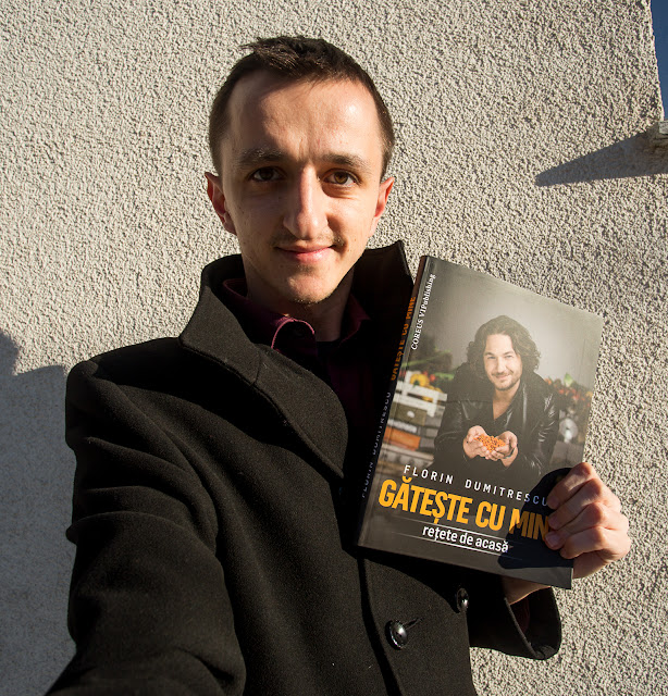 Florin Dumitrescu lanseaza Gateste cu mine retete de acasa - Silviu Pal
