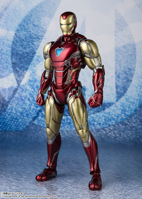 Figuras: Imágenes y detalles de los nuevos S.H.Figuarts Iron Man Mark 85 de Avengers: Endgame - Tamashii Nations