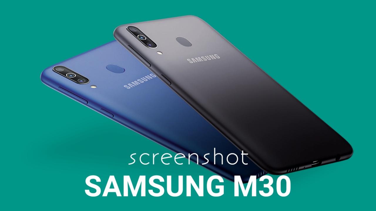 Cara Screenshot Samsung Galaxy M30