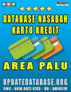Jual Database Nasabah Kartu Kredit Palu