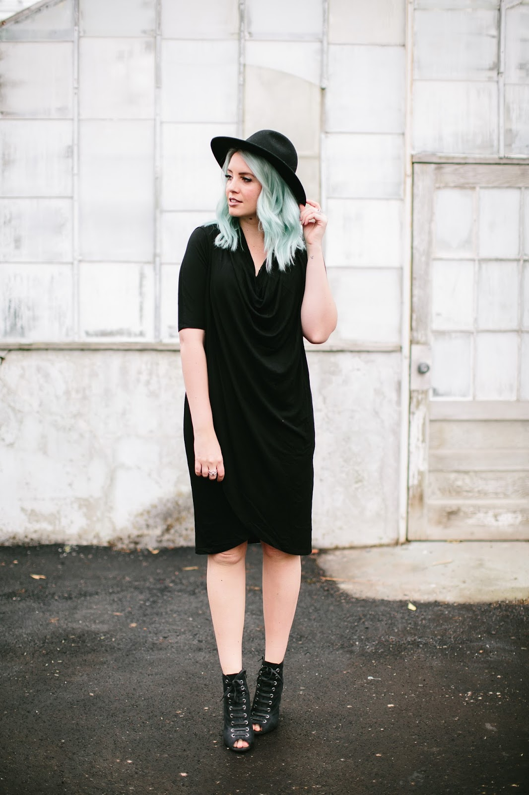 Black Dress, winter Dress, Cute Dress