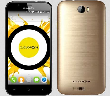 CloudFone Excite 503q, 5-inch Quad Core for Php3,599