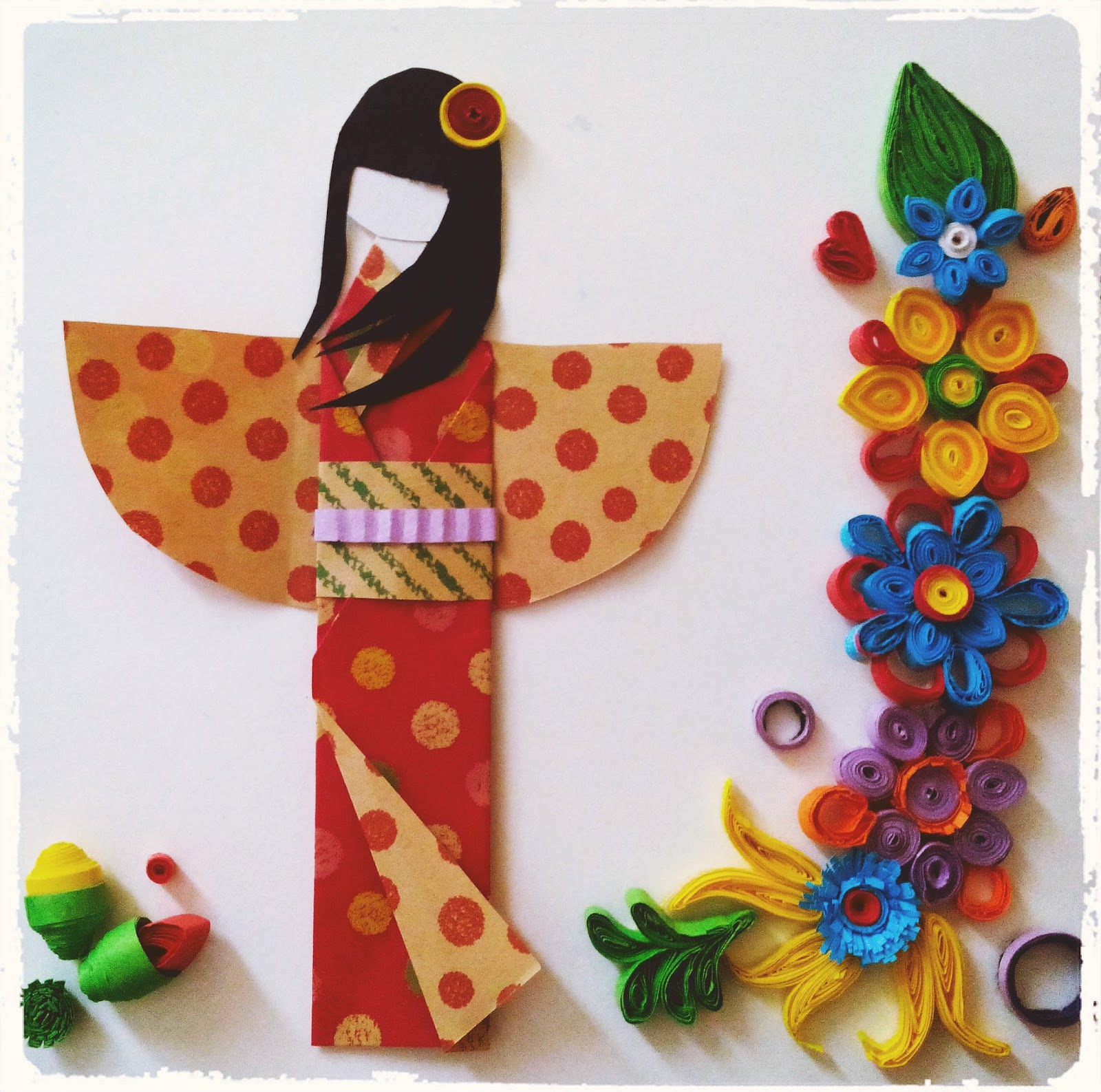 Japanese Paper Doll Tutorial | Art and Papercraft - photo#21