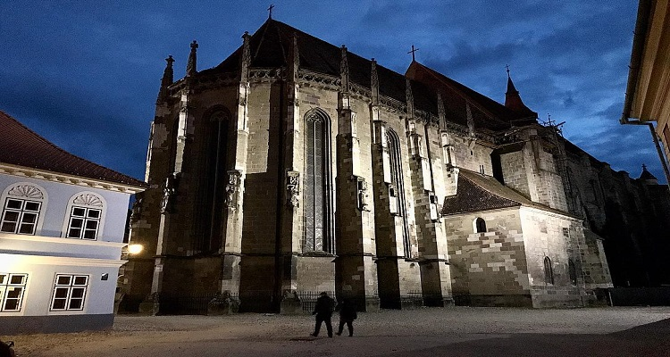 Photos of the Black Church in Brasov