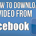 I Want to Download Video From Facebook