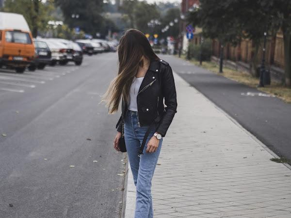 258. Ramoneska, vintage jeans i 3 urodziny bloga!