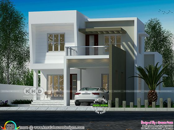 1528 square feet 3 bedroom flat roof home