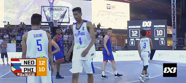 Netherlands def. Philippines, 13-10 (REPLAY VIDEO) FIBA 3x3 U18 World Cup 2017