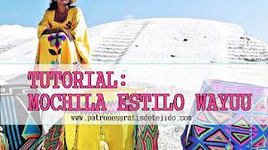 Cómo tejer una mochila estilo Wayuú paso a paso