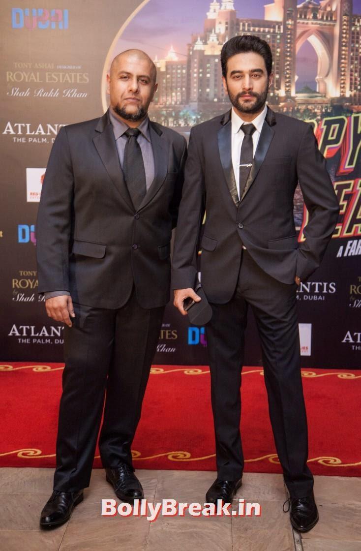 Vishal and Shekhar, Happy new Year Dubai Premiere Photos