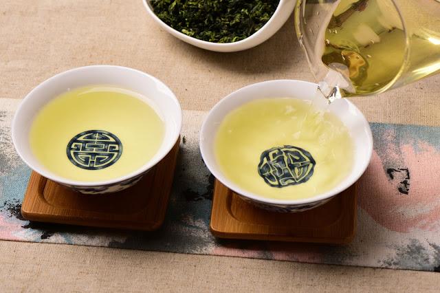 Drinking tie guan yin tea 2018
