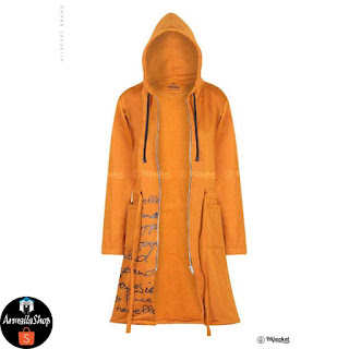 Jaket Hijab Hijacket Urbanashion MariGold Jaket Muslimah Fleece