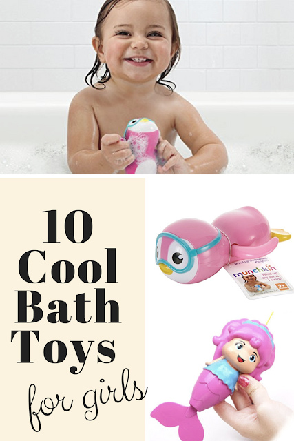 10 Cool Bath Toys for Girls