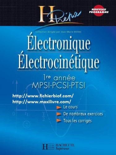 Electronique Electrocinétique HPrépa MPSI PCSI PTSI 1er année