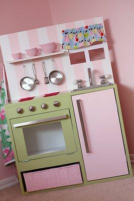 Plastic Kitchen Play Set