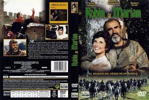 Carátula dvd:Robin y Marian (1976)