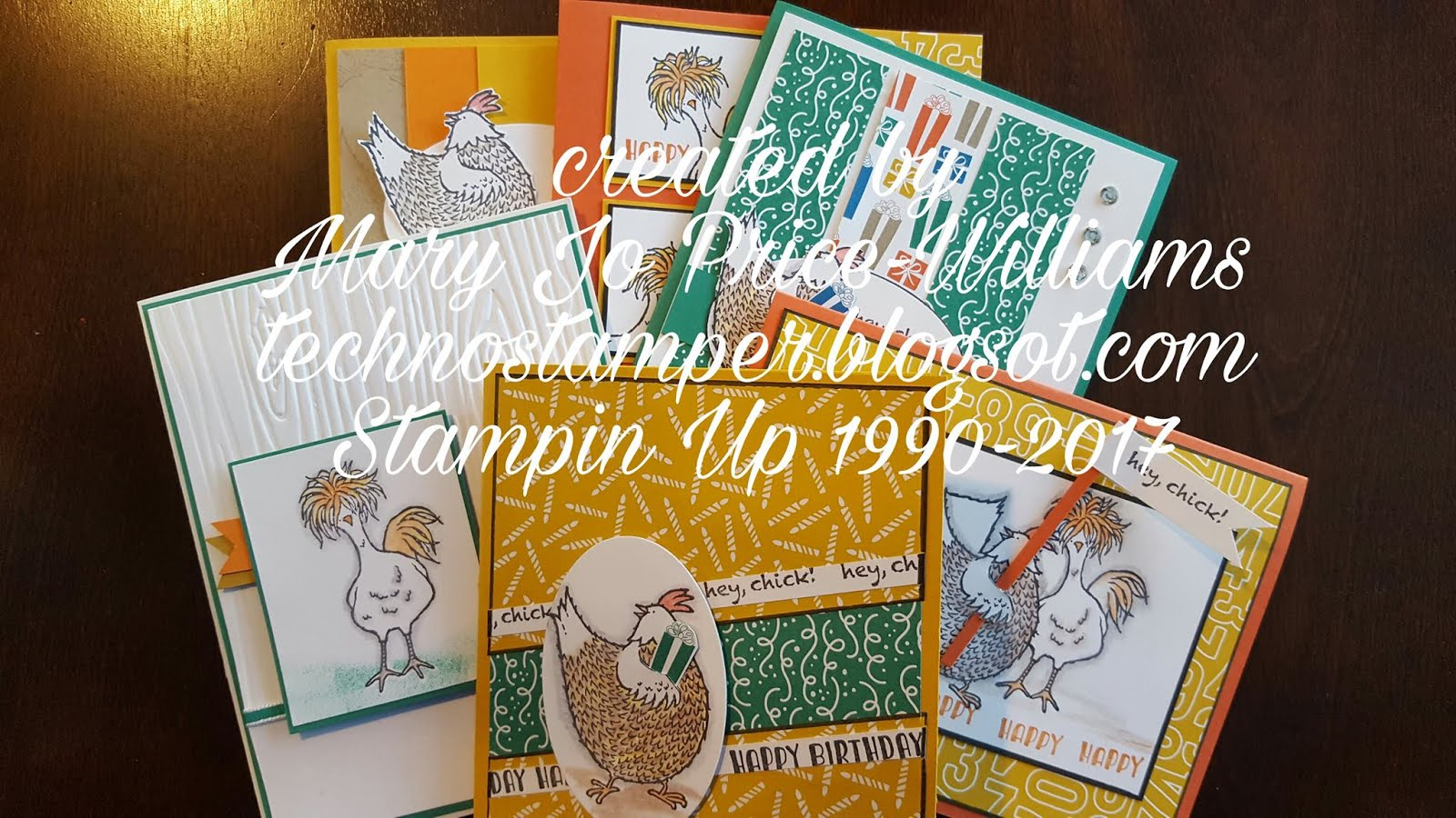 Hey, Chick Card Set Tutorial