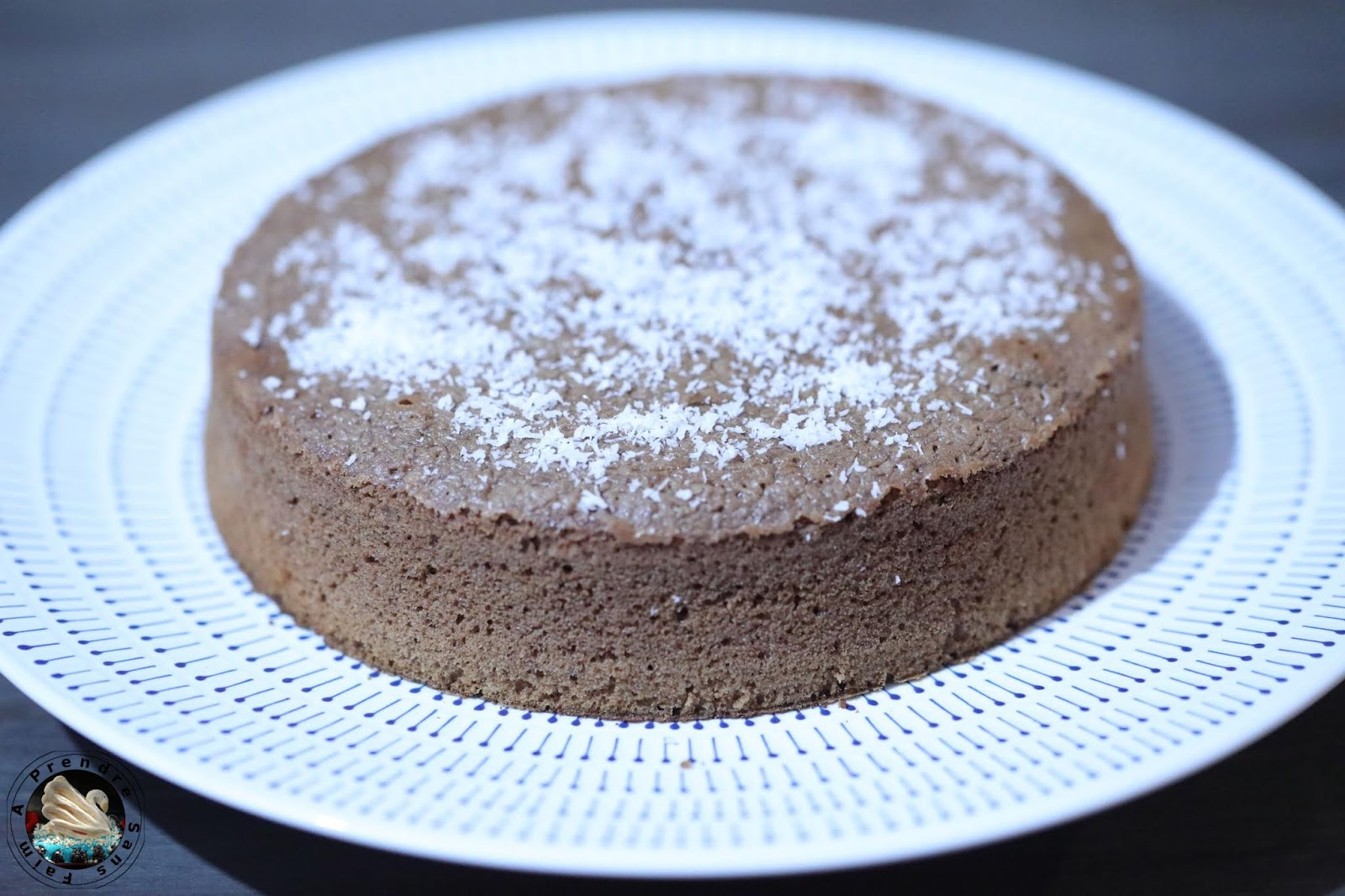 Gâteau chocolat coulant caramel coco