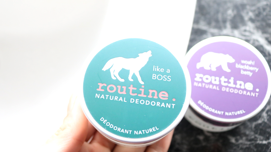 Routine Natural Deodorants - Blackberry Betty and Like A Boss review