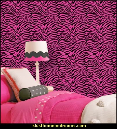 pink zebra wallpaper for bedrooms decorating theme bedrooms maries manor zebra print 19491